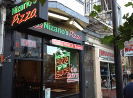 Nizario's pizza Valencia @ 16th St.